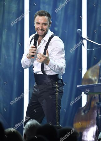 Mans Zelmerlow performs his 'The Grand Wonderland Show'