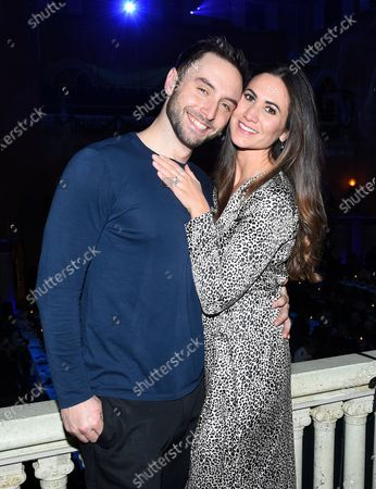 Stock Image of Mans Zelmerlow and Ciara Janson