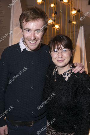 Stock Photo of John Heffernan and Rosie Wyatt