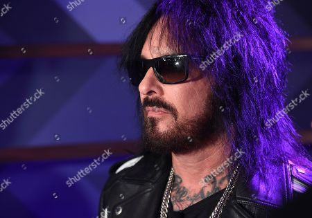 Editorial image of Motley Crue, Def Leppard and Poison Stadium Tour Press Conference, Los Angeles, USA - 04 Dec 2019