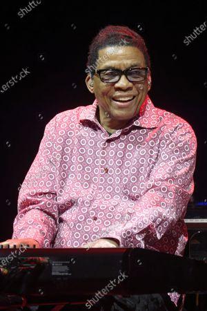 Herbie Hancock in concert at Salle Pleyel