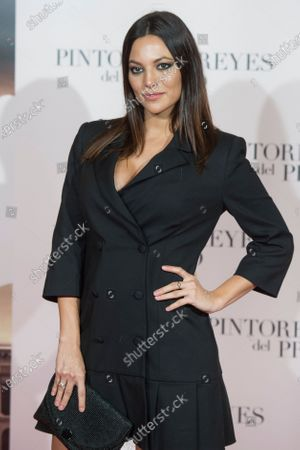 Elisa Mouliaa attends the 'Pintores y reyes del Prado' documentary film premiere