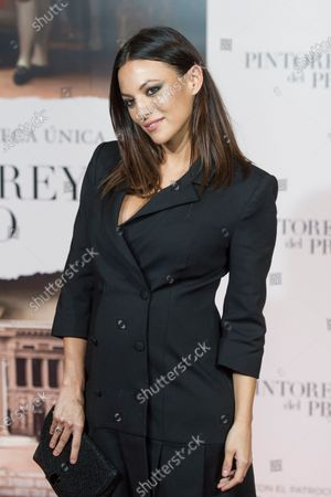 Stock Image of Elisa Mouliaa attends the 'Pintores y reyes del Prado' documentary film premiere