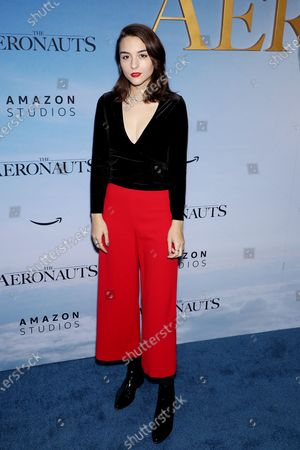 "Editorial photo of The New York Premiere of Amazon's ""The Aeronauts"", New York, USA - 04 Dec 2019"
