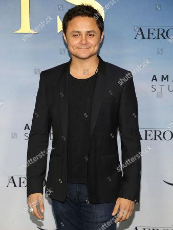 """Arturo Castro attends the premiere of """"Aeronauts"""" at the SVA Theatre, in New York"""