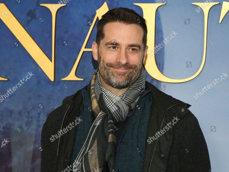 """Todd Lieberman attends the premiere of """"Aeronauts"""" at the SVA Theatre, in New York"""