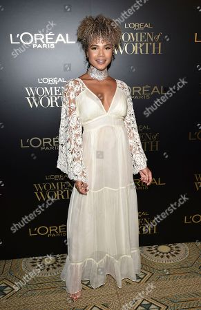 Editorial picture of 2019 L'Oreal Paris Women of Worth Gala, New York, USA - 04 Dec 2019