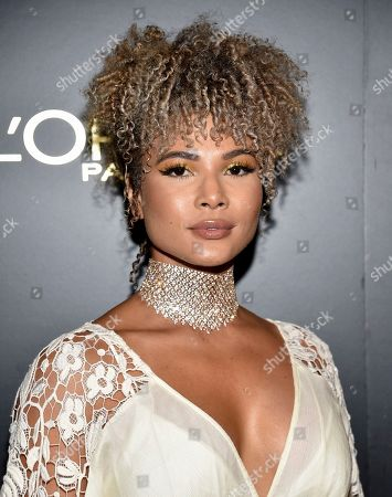 Stock Image of Doralys Britto attends the 14th annual L'Oreal Paris Women of Worth Gala at the Pierre Hotel, in New York