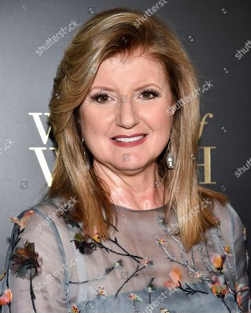 Arianna Huffington attends the 14th annual L'Oreal Paris Women of Worth Gala at the Pierre Hotel, in New York