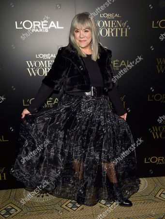 Judy Winter attends the 14th annual L'Oreal Paris Women of Worth Gala at the Pierre Hotel, in New York
