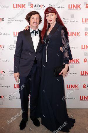 Editorial image of Link Aids Gala, Arrivals, Pavillon Gabriel, Paris, France - 02 Dec 2019