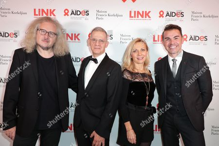 Editorial picture of Link Aids Gala, Arrivals, Pavillon Gabriel, Paris, France - 02 Dec 2019