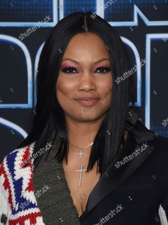 "Garcelle Beauvais arrives at the world premiere of ""Spies in Disguise"" at the El Capitan Theatre, in Los Angeles"