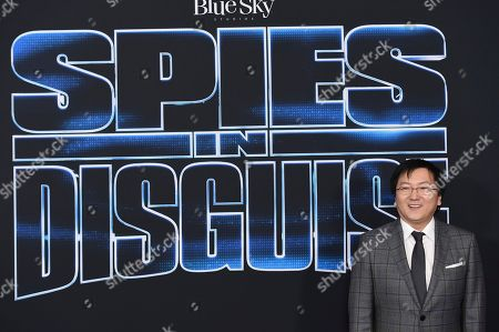 """Masi Oka arrives at the world premiere of """"Spies in Disguise"""" at the El Capitan Theatre, in Los Angeles"""