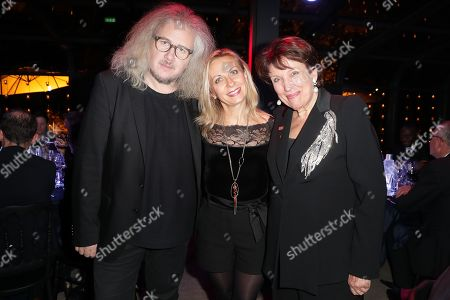 Stock Picture of Yvan Cassar, Nathalie Dessay and Roselyne Bachelot