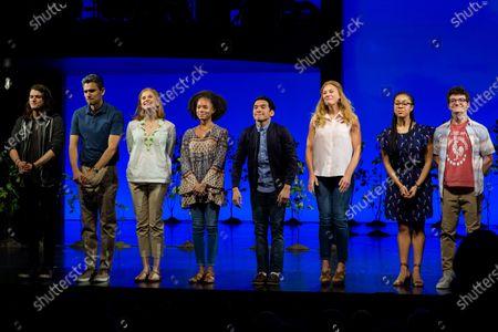 Editorial photo of 'Dear Evan Hansen' musical celebrates three years on Broadway, New York, USA - 03 Dec 2019
