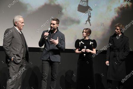 Editorial photo of Amazon Studios 'The Aeronauts' film premiere, Inside, New York, USA - 04 Dec 2019