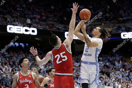 Editorial image of Ohio State North Carolina Basketball, Chapel Hill, USA - 04 Dec 2019