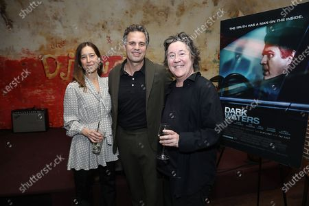 Stock Picture of Pamela Koffler (Producer), Mark Ruffalo and Christine Vachon (Producer)