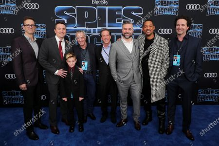 Michael J. Travers, Producer, Nick Bruno, Director, Guest, Jim Morris, Pixar Animation Studios President, Andrew Millstein, Co-President of Blue Sky Studios, Troy Quane, Director, Will Smith, Guest