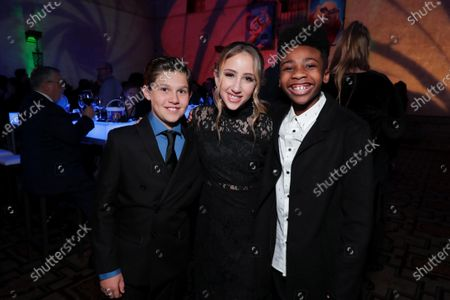 Editorial picture of Twentieth Century Fox and Blue Sky Studios' SPIES IN DISGUISE World Premiere, Los Angeles, USA - 04 Dec 2019