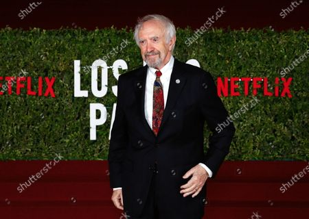 Stock Picture of Jonathan Pryce attends the premiere of the movie 'The Two Popes' at the Law School of Buenos Aires, Argentina, 04 December 2019. The film covers what Pope Francis as successor to Benedict XVI meant for the Catholic Church.