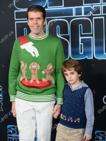 Perez Hilton and son Mario Lavandeira