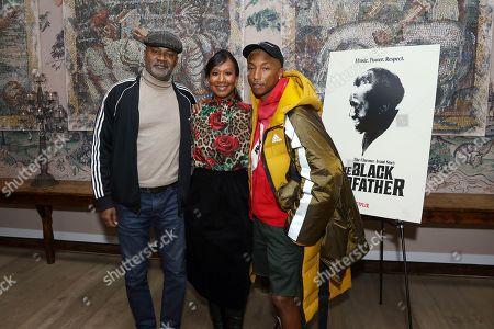 Nelson George, Nicole Avant, Pharrell Williams