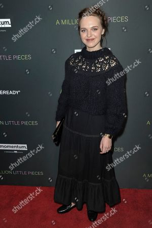 """Odessa Young attends a special screening of """"A Million Little Pieces"""" at the London Hotel, in Los Angeles"""
