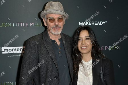 """Stock Image of Billy Bob Thornton, Connie Angland. Billy Bob Thornton, left, and Connie Angland attend a special screening of """"A Million Little Pieces"""" at the London Hotel, in Los Angeles"""