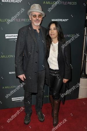 """Stock Photo of Billy Bob Thornton, Connie Angland. Billy Bob Thornton, left, and Connie Angland attend a special screening of """"A Million Little Pieces"""" at the London Hotel, in Los Angeles"""