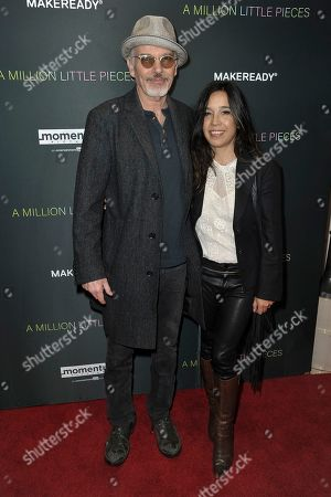 """Billy Bob Thornton, Connie Angland. Billy Bob Thornton, left, and Connie Angland attend a special screening of """"A Million Little Pieces"""" at the London Hotel, in Los Angeles"""