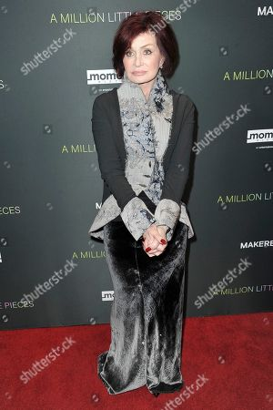"Sharon Osbourne attends a special screening of ""A Million Little Pieces"" at the London Hotel, in Los Angeles"
