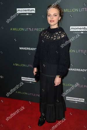 """Odessa Young attends a special screening of """"A Million Little Pieces,"""" at the London Hotel, in Los Angeles"""