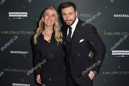 "Stock Photo of Sam Taylor-Johnson, Aaron Taylor-Johnson. Sam Taylor-Johnson, left, and Aaron Taylor-Johnson attend a special screening of ""A Million Little Pieces,"" at the London Hotel, in Los Angeles"