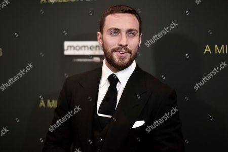 """Aaron Taylor-Johnson attends a special screening of """"A Million Little Pieces"""" at the London Hotel, in Los Angeles"""