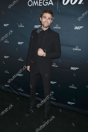 Stock Picture of Paul Wesley
