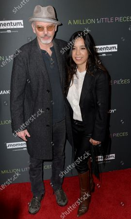 Billy Bob Thornton (L) and his wife Connie Angland (R) arrive at the premiere of the movie 'A Million Little Pieces' at The London hotel in Los Angeles, California, USA, 04 December 2019.