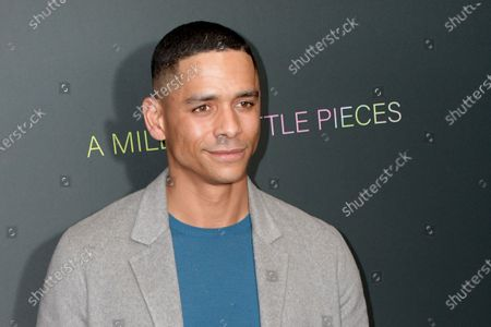 Charlie Barnett arrives at the premiere of the movie 'A Million Little Pieces' at The London West Hollywood at Beverly Hills in Los Angeles, California, USA, 04 December 2019.