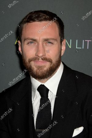 Aaron Taylor-Johnson arrives at the premiere of the movie 'A Million Little Pieces' at The London West Hollywood at Beverly Hills in Los Angeles, California, USA, 04 December 2019.