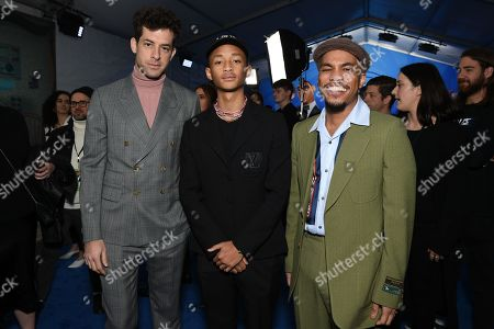 Mark Ronson, Jaden Smith and Anderson Paak