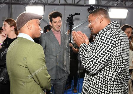 Anderson Paak, Mark Ronson, Will Smith