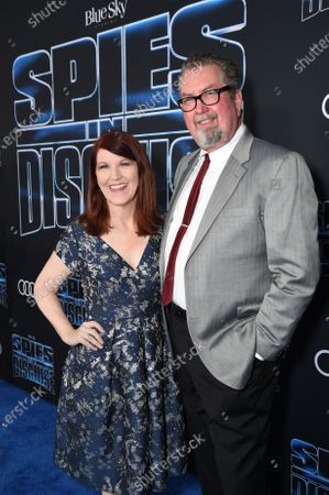Kate Flannery, Chris Haston