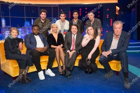 Stereophonics - Jamie Morrison, Kelly Jones, Adam Zindani, Richard Jones, Glenda Jackson, Samson Kayo, Holly Willoughby, Jonathan Ross, Lena Dunham, Jeremy Clarkson