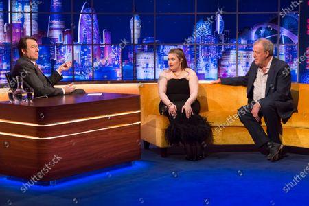 Jonathan Ross, Lena Dunham, Jeremy Clarkson