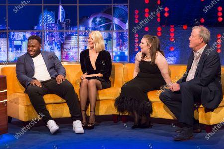 Samson Kayo, Holly Willoughby. Lena Dunham, Jeremy Clarkson