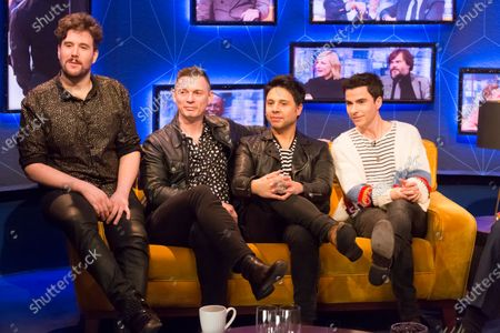 Stereophonics - Jamie Morrison, Richard Jones, Adam Zindani, Kelly Jones