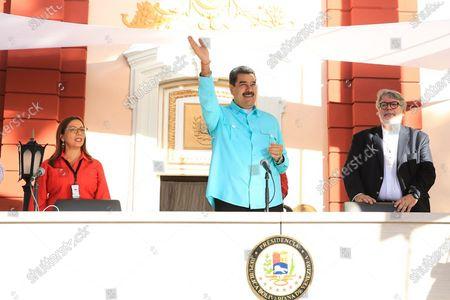 Editorial picture of Venezuelan President reports on Evo Morales situation, Caracas, Venezuela - 04 Dec 2019