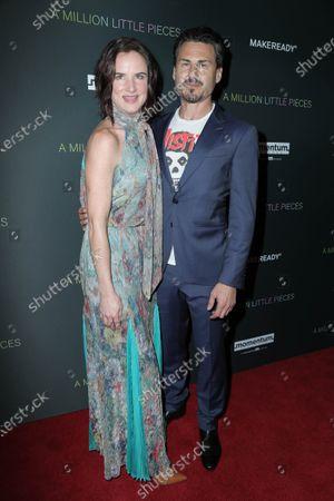 Juliette Lewis and  Steve Berra