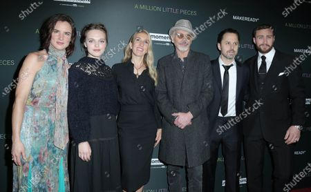 Juliette Lewis, Odessa Young, director Sam Taylor-Johnson, Billy Bob Thornton, Giovanni Ribsi, and Aaron Taylor-Johnson